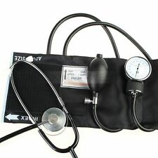 Blood Pressure Cuff Stethoscope Sphygmomanometer Kit