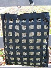 Slow Feed Hay Bag Small Holds One or Two Flakes of Hay Black