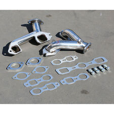 6CYL 216/235/261 STAINLESS STEEL HEADER MANIFOLD SPLIT EXHAUST FOR 37-62 CHEVY