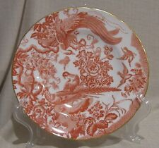 Royal Crown Derby Red Aves Dinner Plate