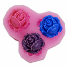 Flower Rose Silicone 3D Cake Decoration DIY Craft Tool Fondant Soap Biscuit Mold