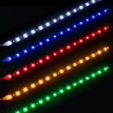 12V 15 LED 30cm Car Motor Vehicle Flexible Waterproof 3528 Strip Light 5 Colors
