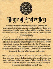 Stone of Protection, Book of Shadows Pages, BOS Pages, Real Magic Spells, Wicca