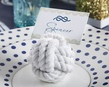 72 Nautical Cotton Rope Place Card Holder Wedding / Shower Favors