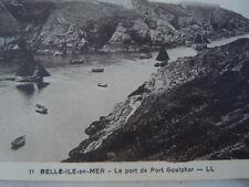 Carte postale le Port de Goulphar à Belle-île-en-Mer