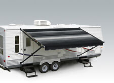 Carefree Pioneer RV Awning 10' Black and Grey w/Black WG (complete with arms)