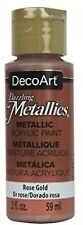 Deco ArtDazzling Metallics Acrylic Paint 2oz-Rose Gold, Other, Multicoloured