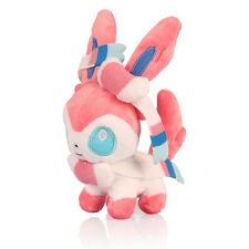 7in Pokemon Eevee Sylveon Plush Toy Stuffed Doll Kid Cartoon Figure Collectible
