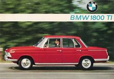 BMW 1800 Ti Saloon 1964-65 UK Market Leaflet Sales Brochure