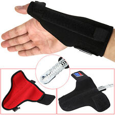 Wrist Palm Support Brace Thumb Protector Gym Weight Lifting Pain Relief Strap