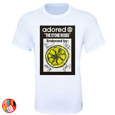 Adored Signed Lemon Stone Roses Stoned Love T-Shirt