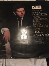 ASD 2318 Daniel Barenboim Mozart Piano Concertos: No.20 In D Minor K. 466, No.23