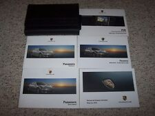 2010 Porsche Panamera S 4S Turbo Owner's Owners User Manual Book Guide Set
