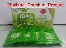 IDOL SLIM APPLE 10 Sachets Detox Weight Loss Diet Drink Whitening Slim Arm & Leg