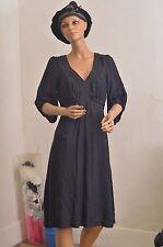 Robe noire LA REDOUTE   taille 40  ref 111677