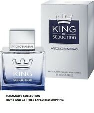 Antonio Banderas KING of SEDUCTION 3.4 oz Men (NIB) SEALED