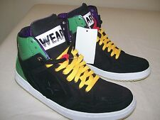 New Converse Chuck Taylor Weapon Leather Hi Top Sneakers Shoes Mens 9 Rasta