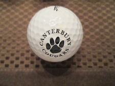 LOGO GOLF BALL-CANTERBURY HIGH SCHOOL COUGARS