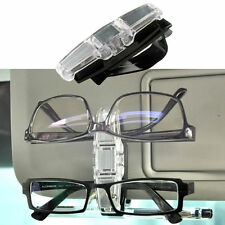 Car Sunglasses Spectacles Clip Glasses Holder Clips Sun Visor Can Be 180° New