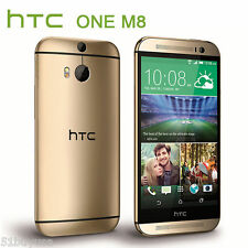 HTC One M8 - 32GB - Amber Gold (Unlocked) Smartphone 5.0 inches 4G LTE (NO NFC)