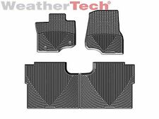 WeatherTech All-Weather Floor Mats for Ford F-150 Crew Cab - 2015-2016 - Black