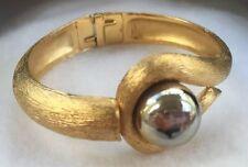 Vintage Trifari Modernist Clamper Bracelet
