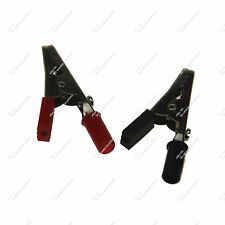 1 Set Crocodile / Alligator / Electrical Clip Clamps Testing Insulated 20552