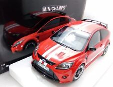 2010 FORD FOCUS RS RED 1967 MKIV TRIBUTE 1/18 MODEL CAR BY MINICHAMPS 100080067