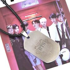 BANGTAN BOYS BTS Titanium Steel Tag Pendant Necklace KPOP Star Jewelry GIFTS NEW