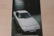 155032) Mazda RX-7 - 323 - 626 - 929 Prospekt 07/1979