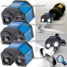 NEW Ring 3x RIL70 2 LED Mini Magnetic Screw Driver Spanner Tool Light Torch