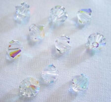 25 Swarovski Crystal Beads # 5301 Crystal AB  6MM