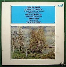 Faure La Bonne Chanson The Nash Ensemble LP