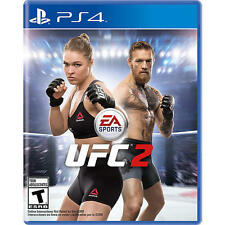 PS4 UFC 2 Ultimate Fighter NEW Sealed REGION FREE USA RHONDA ROUSEY