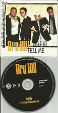 Sisqo DRU HILL Tell Me w/ RARE BOUNCE Vers CARD EUROPE Made CD single USA Seller