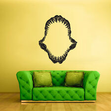 Wall Decal Vinyl Sticker Decals Jaw Teeth Jaws Shark Open Horror (Z2105)