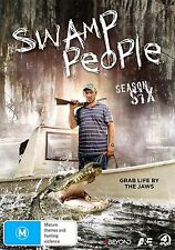 SWAMP PEOPLE : SEASON 6  -  DVD - UK Compatible - New & sealed
