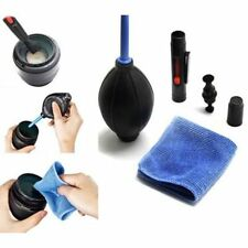 3 in 1 Lens  Cleaner Cleaning Dust Pen Blower Cloth Kit For DSLR SLR Camera J92