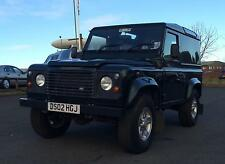 02/02 Land Rover 90 Defender 2.5Td5 County Hard Top Green