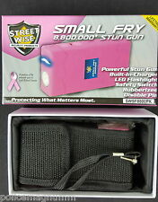 Streetwise Pink StunGun Holster 8,800,000 Small Fry Rechargeable NEW