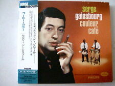 """Couleur Café"" Serge Gainsbourg JAPAN PRESS w Extra Japanese Booklet"