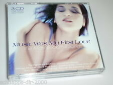 MUSIC WAS MY FIRST LOVE  3 CD´S  BIG-BOX MIT CHICAGO / SAM COOKE / AMERICA