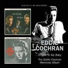 Eddie Cochran Singin' To My Baby/Memorial Album CD NEW SEALED C'mon Everybody+