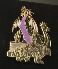 Disney Shopping Dragons Pin Set LE100 Sleeping Beauty Maleficent Only Dragon