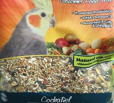 Higgins Sunburst gourmet Food mix for cockatiel,fruits and veggies, 3lb