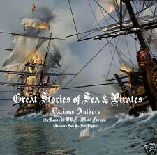 CD- Great Stories of Sea & Pirates - 12 eBooks-Resell Rights