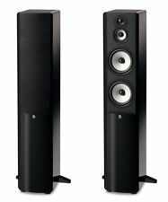 "Boston Acoustics A 360 Dual 6.5"" Woofer 3-Way Floorstanding Speaker -Gloss Black"