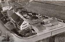 Nidderau - Eichen, Firma Wörner & Söhne, Baustoffe, aus der Luft gesehen,um 1960
