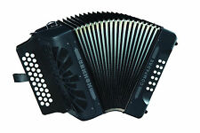 Hohner Compadre ADG LA Acordeon Accordion NEW Black +GigBag,Straps,Shirt,BackPad