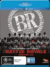 Battle Royale - Director's Cut! (Blu Ray + DVD - 2 disc set, 2012) R18+ Region B